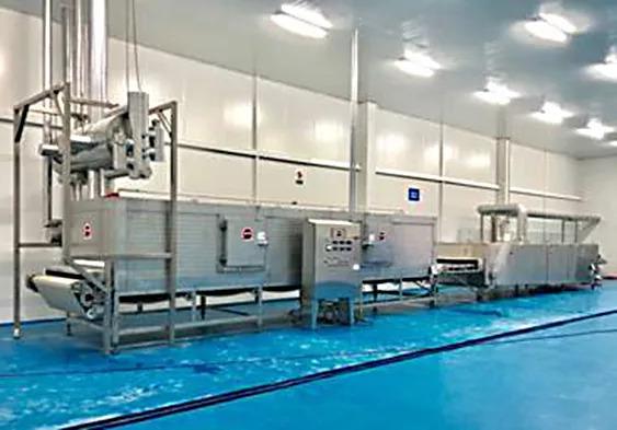 brine tunnel freezer installation