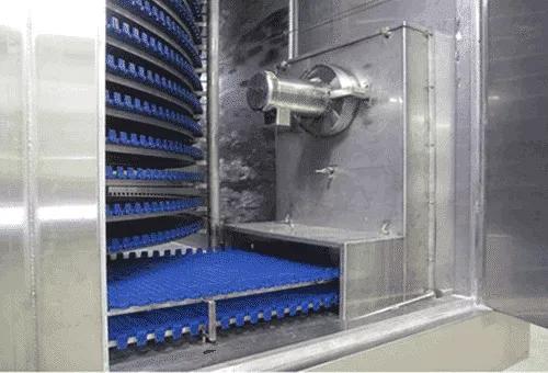 spiral-freezer-air-infiltration-fan